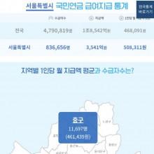 서울_국민연금 통계