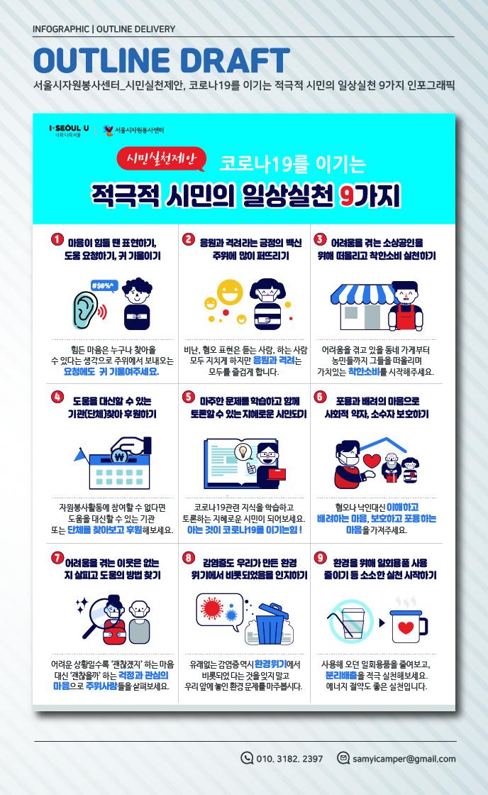 서울시자원봉사센터_코로나19를 이기는 적극적 시민의 일상실천 9가지대지 3-100
