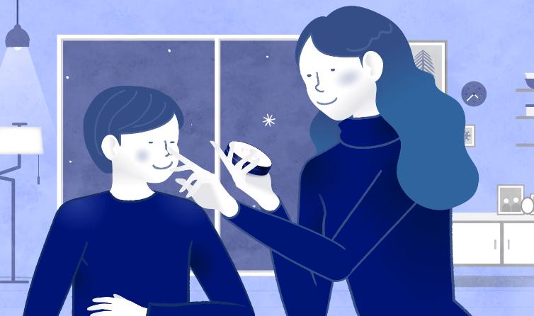 니베아 홍보영상_모션그래픽