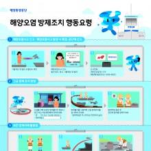 해양환경공단 인포그래픽포스터_인포그래픽웍스 제작